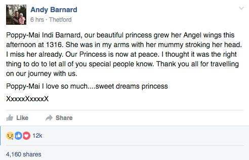 Poppy-Mai Barnard, Girl Whose Name Came Second To Boaty McBoatface, Dies After Cancer