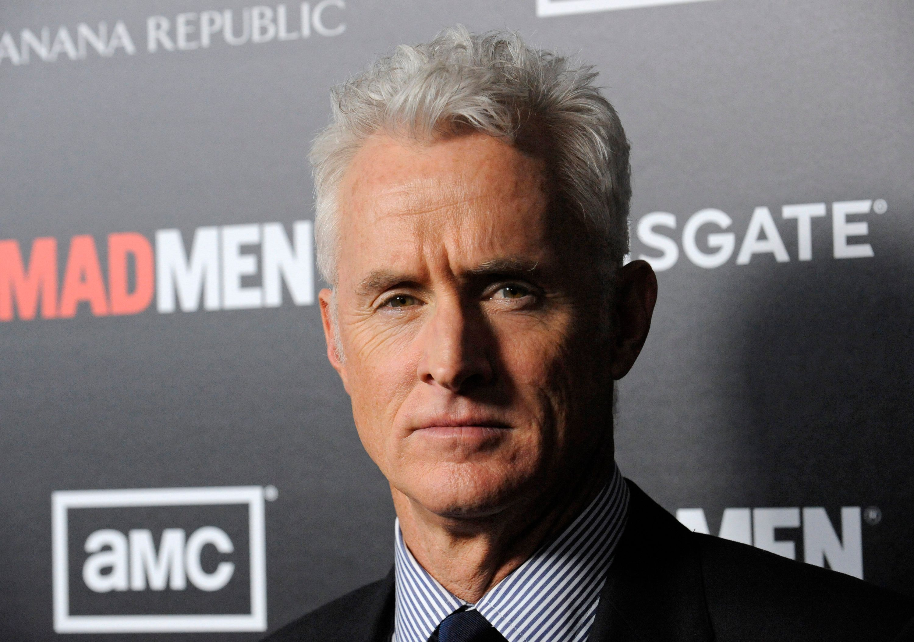 "Cast member John Slattery attends a premiere screening of season five of the AMC series ""Mad Men"" in Los Angeles March 14, 2012. REUTERS/Phil McCarten (UNITED STATES - Tags: ENTERTAINMENT)"
