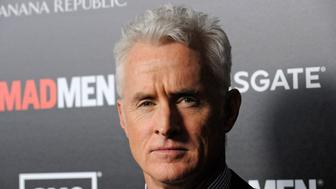 """Cast member John Slattery attends a premiere screening of season five of the AMC series """"Mad Men"""" in Los Angeles March 14, 2012. REUTERS/Phil McCarten (UNITED STATES - Tags: ENTERTAINMENT)"""