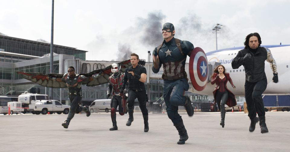Written by&nbsp;Christopher Markus&nbsp;and&nbsp;Stephen McFeely &bull; Directed by Anthony Russo and Joe Russo<br><br>Starri