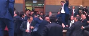 TURKEY PARLIAMENT FIGHT