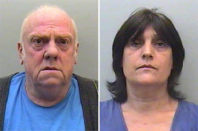 The garden at the former home of paedophile couple David and Pauline Williams is being dug