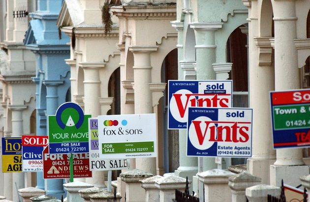 The Office for National Statistics says a record 2.2 million were renting well into their