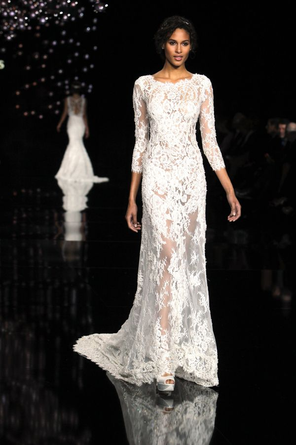 Bridal Fashion Week Spring 2017: The Most Nearly-Naked Dresses