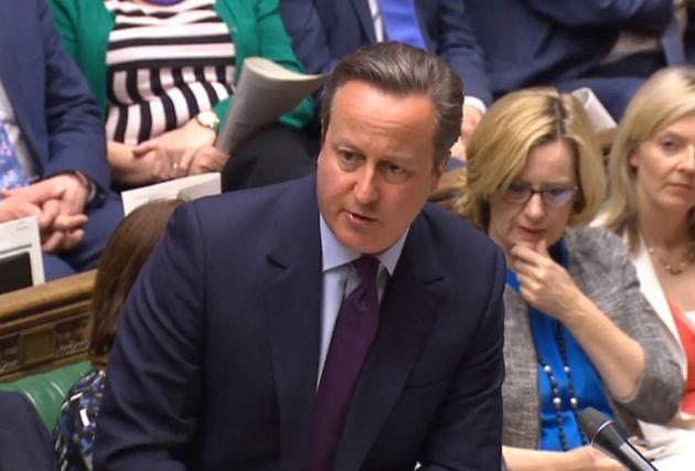 David Cameron at