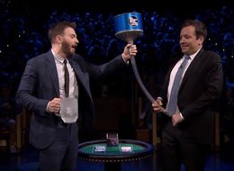 Chris Evans And Jimmy Fallon Poured Cold Water Into Each Other's Trousers