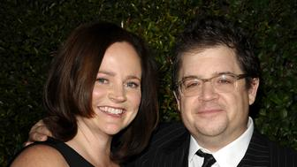 BEVERLY HILLS, CA - DECEMBER 15:  Actor Patton Oswalt (R) and wife Michelle McNamara attend the 'Young Adult' Los Angeles Premiere at AMPAS Samuel Goldwyn Theater on December 15, 2011 in Beverly Hills, California.  (Photo by Jason LaVeris/FilmMagic)