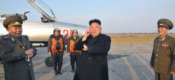 North Korea Cracks Down On Smoking But Kim Jong Un Still Puffs Away