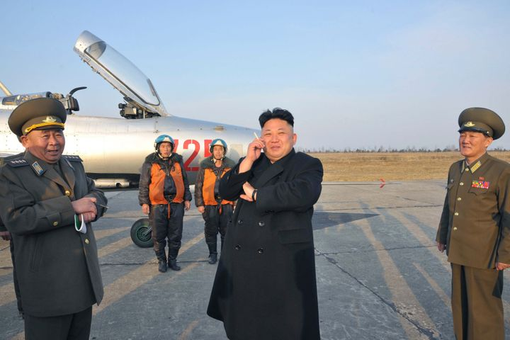 North Korean leader Kim Jong Un is regularly seen smoking cigarettes as his country works to discourage the habit.