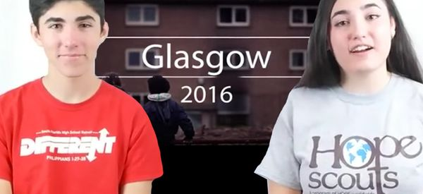 Glasgow Is So Deprived These American Teens Are Trying To Save It