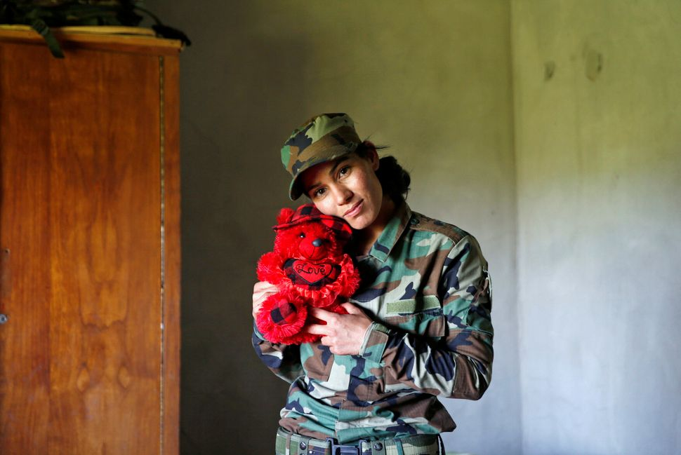 Many of the women have left their children and families to join the fight against ISIS.