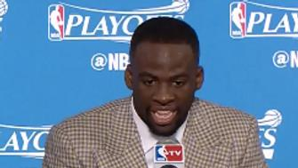 Draymond Green stopped working for a bit last night.