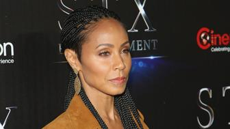 LAS VEGAS, NEVADA - APRIL 12:  Actress Jada Pinkett Smith attends STX Entertainment's The State of the Industry: Past, Present and Future at The Colosseum at Caesars Palace during CinemaCon, the official convention of the National Association of Theatre Owners, on April 12, 2016 in Las Vegas, Nevada.  (Photo by Gabe Ginsberg/WireImage)
