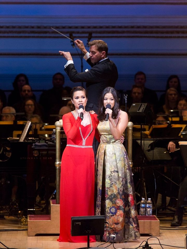"Two generations of ""Miss Saigon"" stars, Lea Salonga and Eva Noblezada, tackled one of the show's iconic numbers."