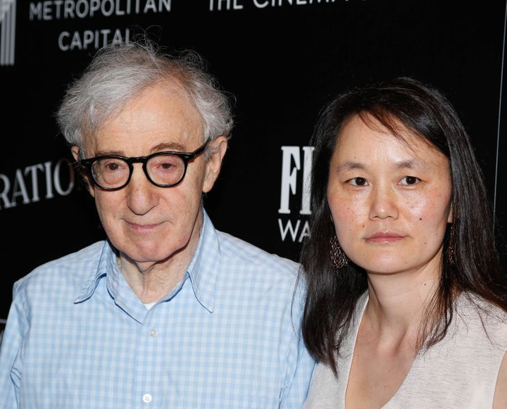 woody allen is creepy af about his marriage to soon yi in new  rob kim via getty images woody allen