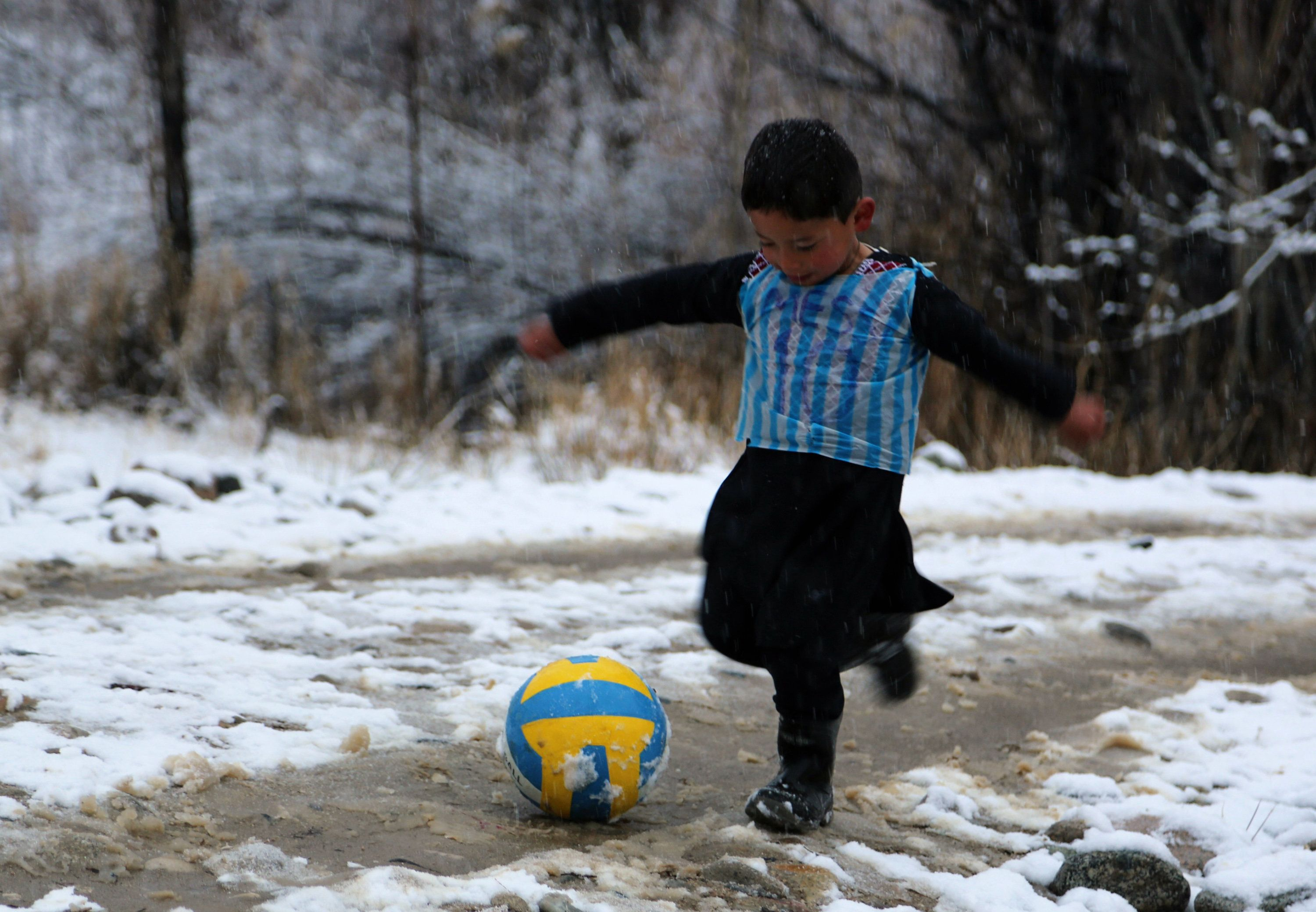 Internet Stardom Forces 'Little Messi' And His Family To Flee