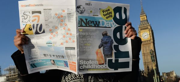 Britain's Newest National Newspaper Could Be About To Close After Just Two Months