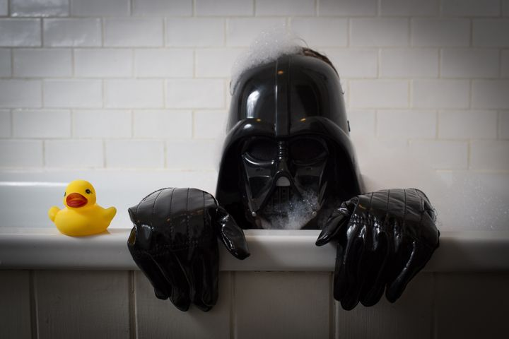 Darth Vader's all about hygiene.