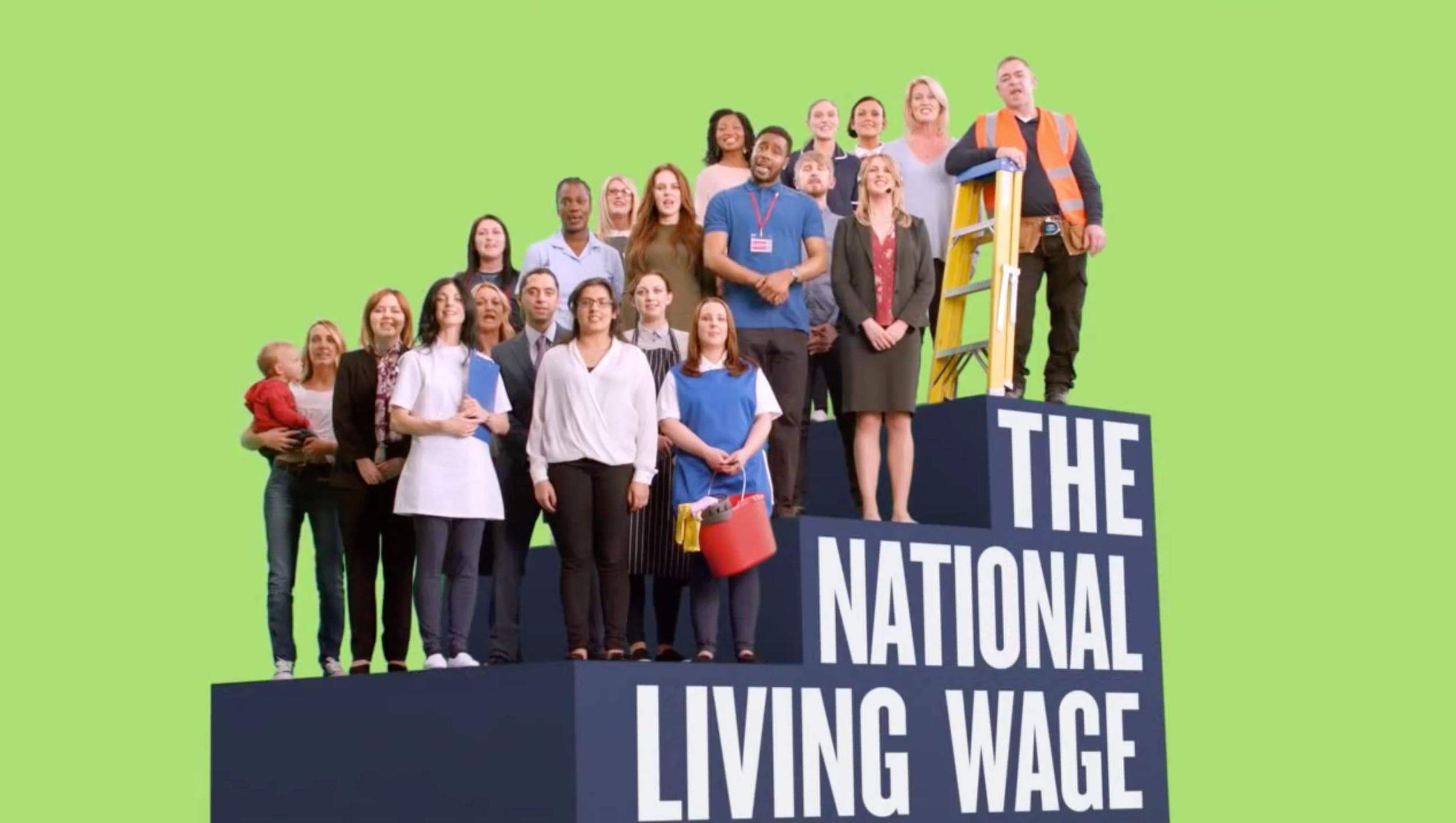 Osborne's Living Wage Advert Features Actor Under 25 Who Can't Receive