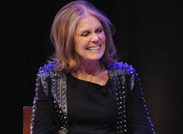 Gloria Steinem Thinks Donald Trump Is 'Playing The Masculinity Card'