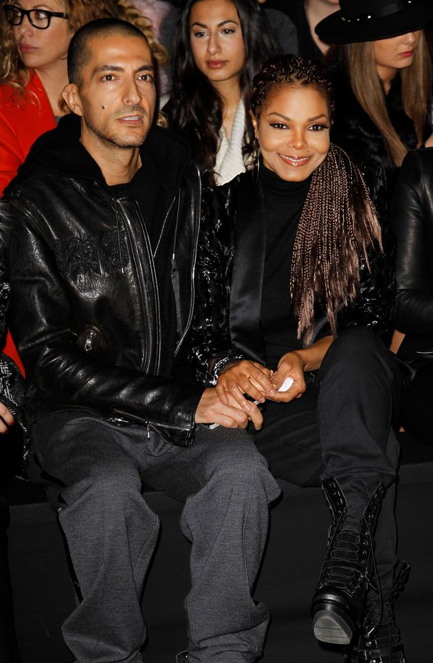 Janet Jackson and her husbandWissam Al