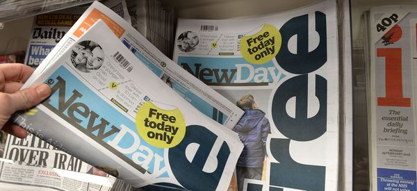 Britain's Newest Newspaper To Close After Just 9 Weeks