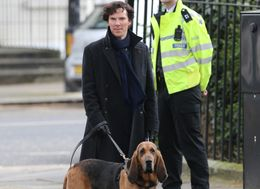 Benedict Films 'Sherlock' With New Sidekick