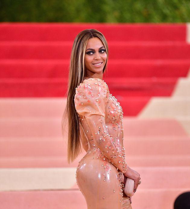 Beyoncé at the Met Gala earlier this