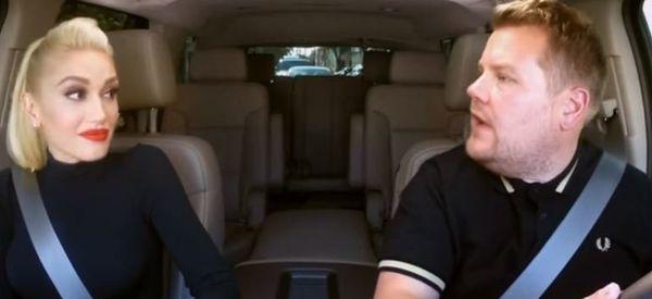 Gwen Stefani's Carpool Karaoke Hijacked By Two VERY Famous Guests