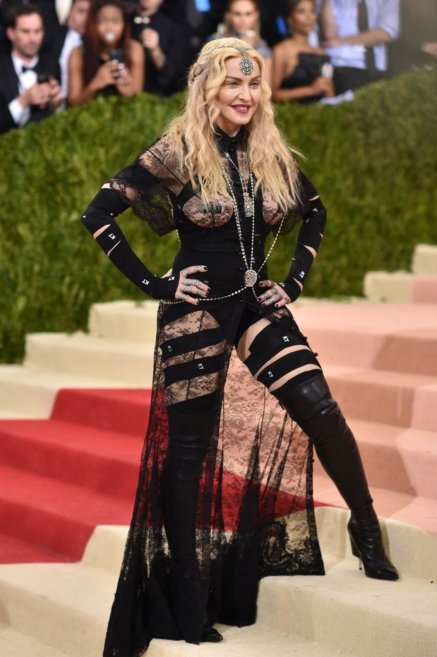 Madonna Declares Her Met Gala Outfit A 'Political