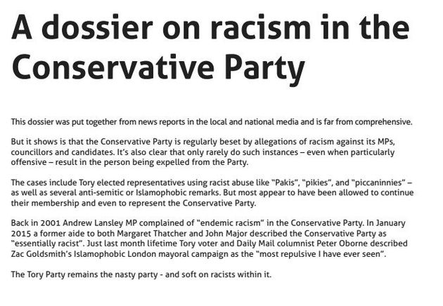 Tory 'Dog Whistle Racism' Should Be Investigated By Equalities Watchdog, Says