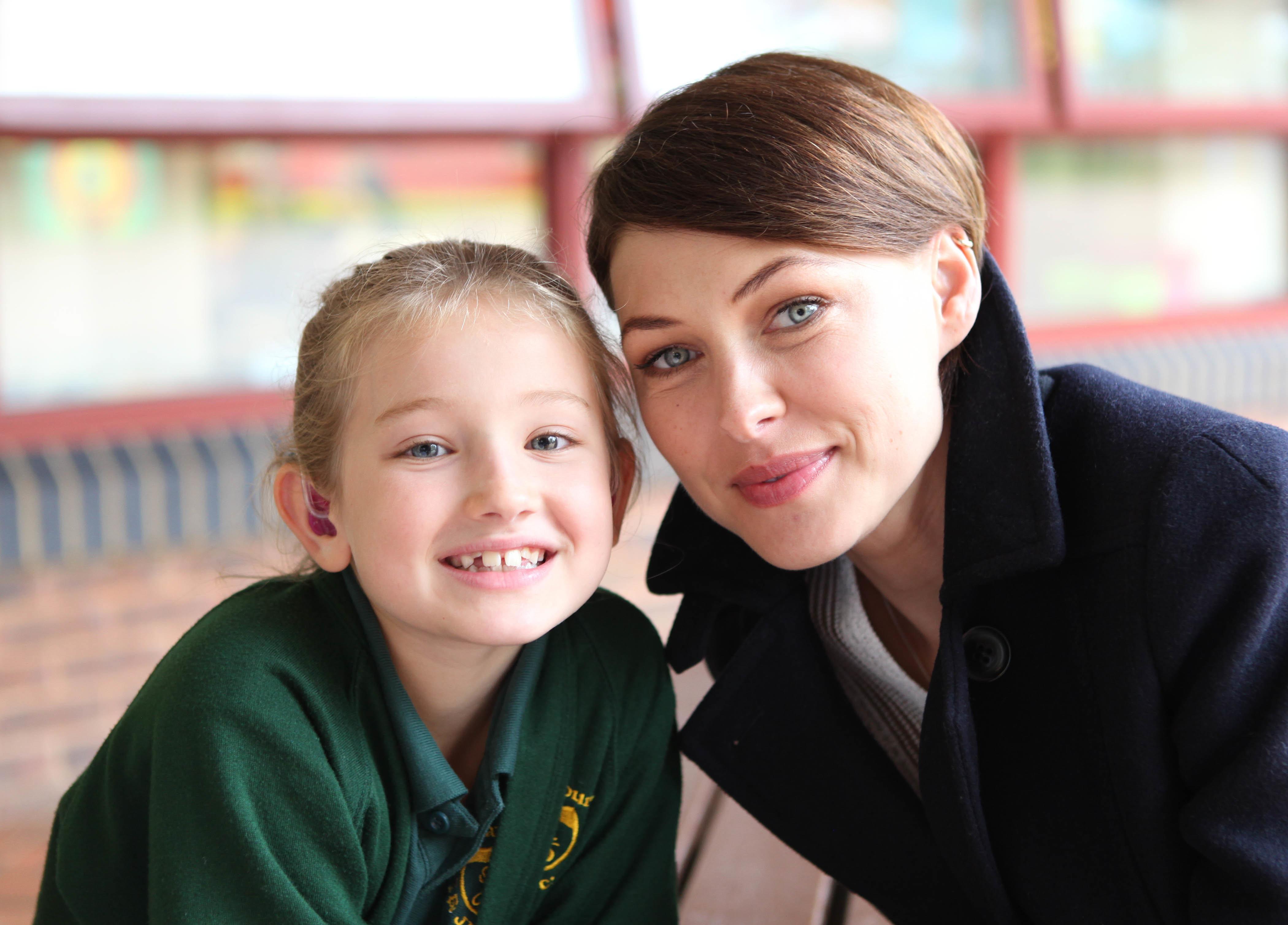 Emma Willis and Olivia