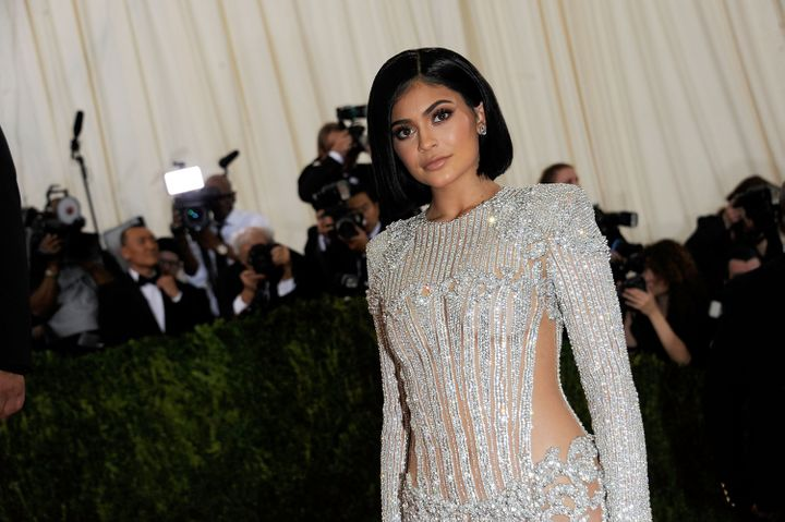 Kylie Jenner makes her debut at the Met Ball.