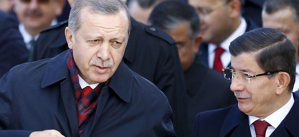 Turkish PM Stepping Down Amid Rift With Erdogan