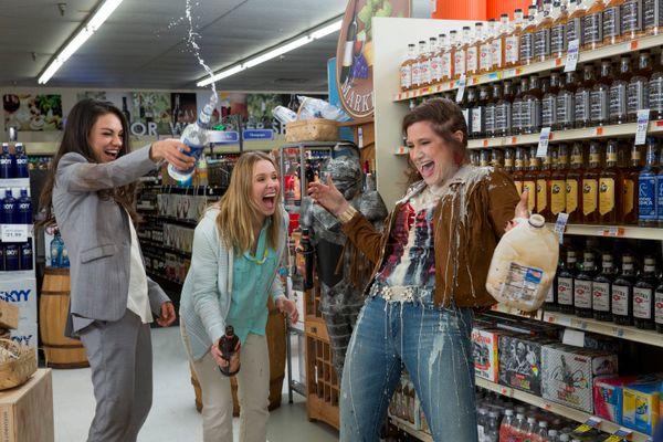 Written and directed by&nbsp;Jon Lucas and Scott Moore<br><br>Starring Mila Kunis, Kathryn Hahn, Kristen Bell, Christina Appl