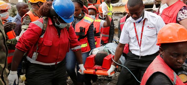Woman Pulled Out Of Nairobi Building Rubble 6 Days After Collapse