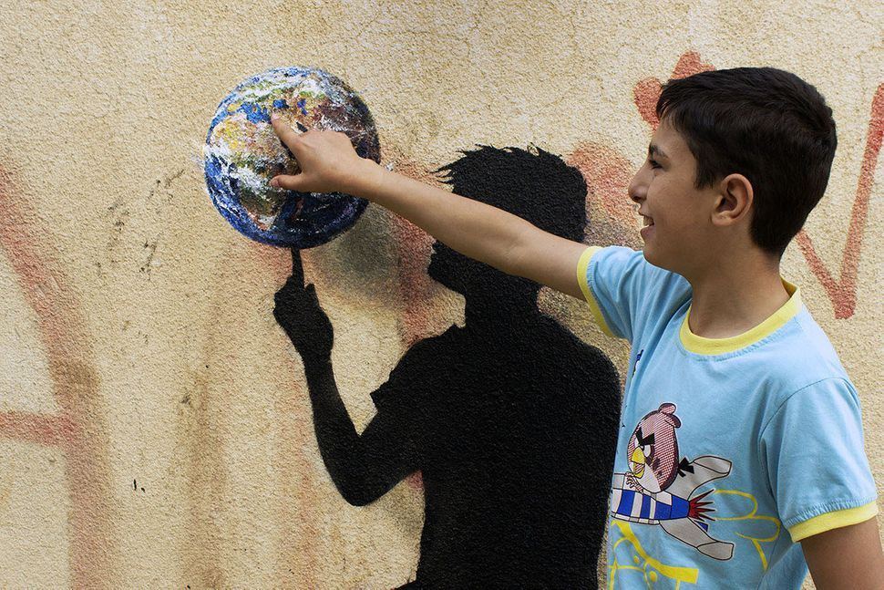 """""""Abig part of Jordan's population and its future is being determined by and is in the hands of the kids,"""" s"""