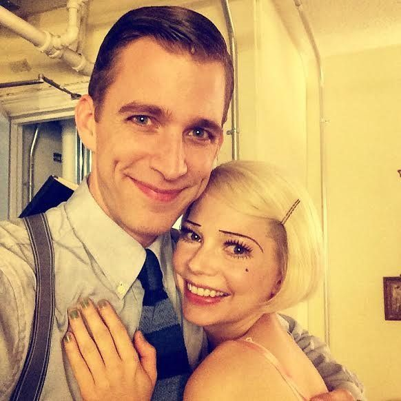"""In 2014,Eakeley was seen in the hit revival of """"Cabaret"""" with Michelle Williams."""