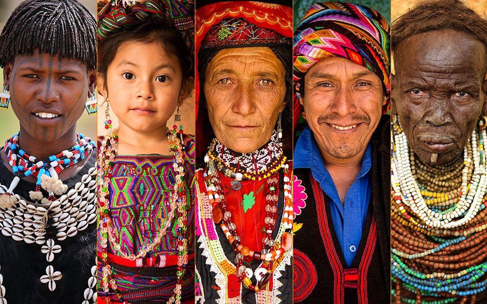 Cultural diversity around the world