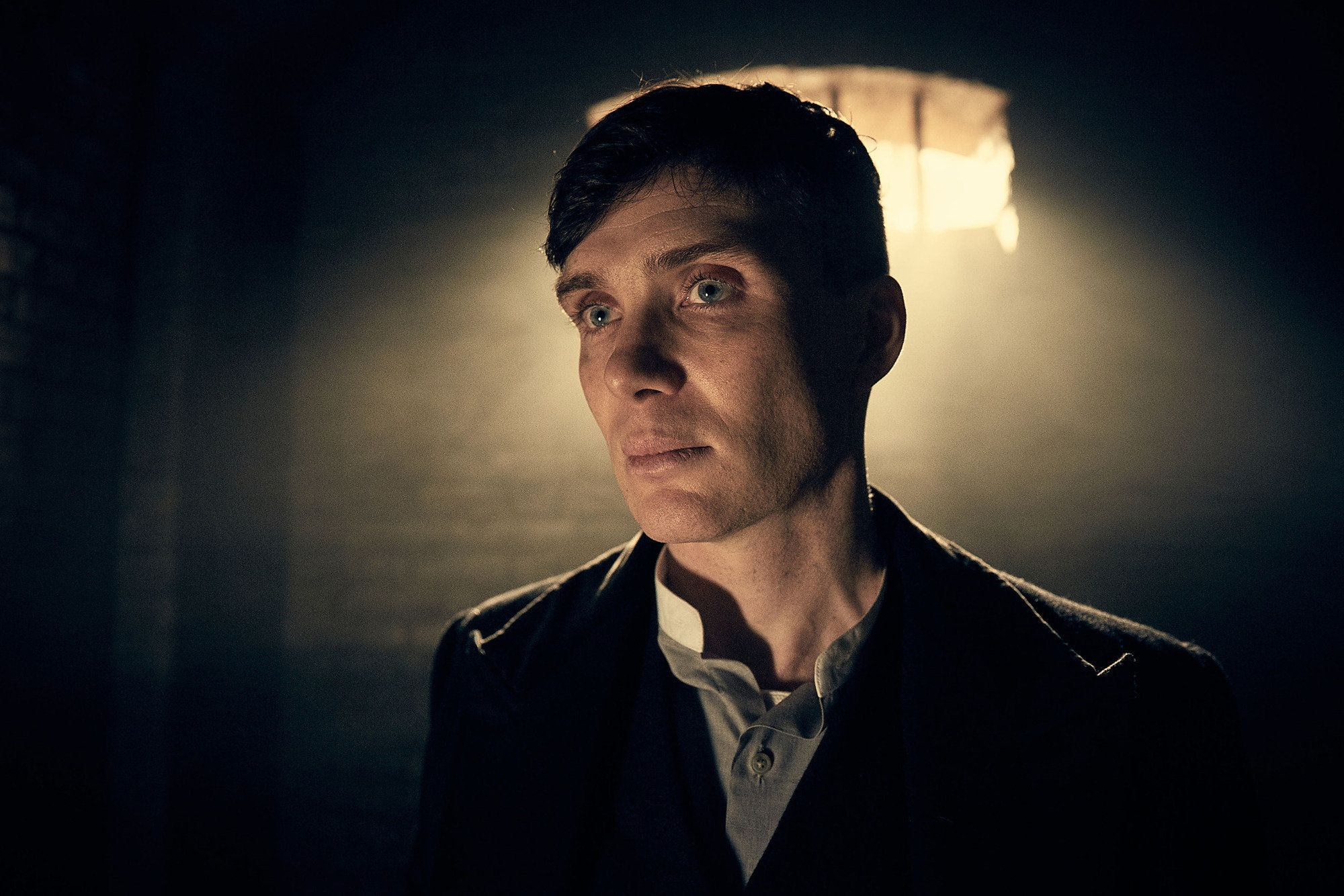 Cillian Murphy plays gangster Tommy Shelby in 'Peaky