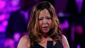 NEW YORK, NY - MAY 03:  Lucia McBath, mother of Jordan Davis, speaks onstage at VH1's 'Dear Mama' Event on May 3, 2016 in New York City. Tune-in to VH1 on Sunday, May 8, 2016 at 9pm to watch 'Dear Mama'.  (Photo by Thos Robinson/Getty Images for VH1)