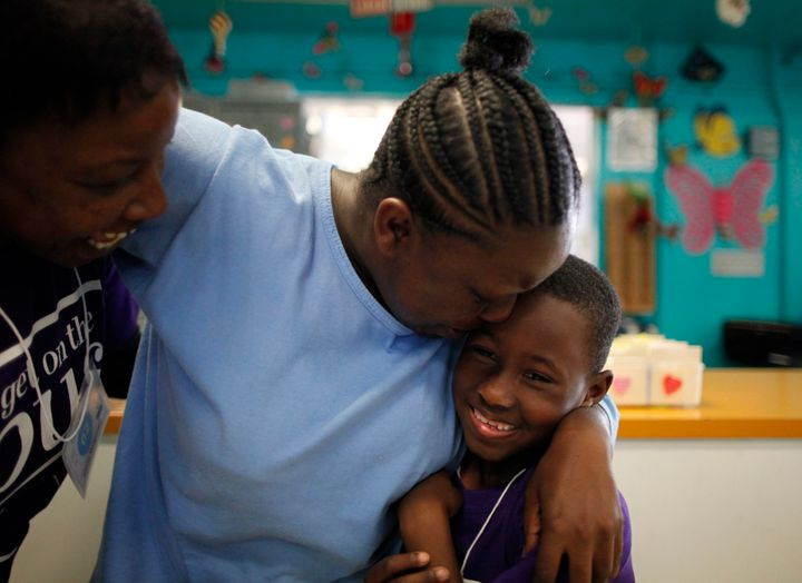 Sixty percent of parents in state prison report being held over 100 miles from their children.