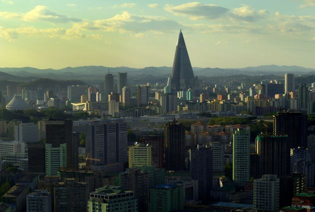 A view of Pyongyang ahead of North Korea's party congress. This is a huge event in the country, with...
