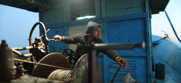 A Night At Sea With The Fishermen Of Gaza