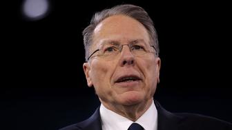 NATIONAL HARBOR, MD - MARCH 03:  Executive Vice President of the National Rifle Association Wayne LaPierre speaks during the Conservative Political Action Conference (CPAC) March 3, 2016 in National Harbor, Maryland. The American Conservative Union hosted its annual Conservative Political Action Conference to discuss conservative issues.  (Photo by Alex Wong/Getty Images)