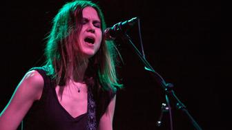 CHARLOTTE, NC - MARCH 23:  Singer/guitarist Juliana Hatfield of the Juliana Hatfield Three performs at Neighborhood Theatre on March 23, 2015 in Charlotte, North Carolina.  (Photo by Jeff Hahne/Getty Images)