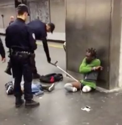 Triple Amputee 'Humiliated By Police Who Forced Him To Remove