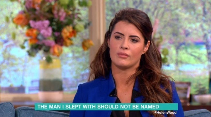 Helen Wood appeared on 'This Morning' to discuss the