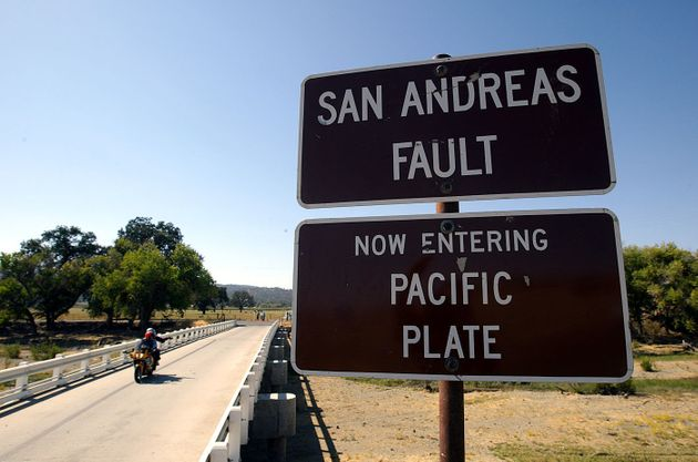 The San Andreas fault has been very quiet of