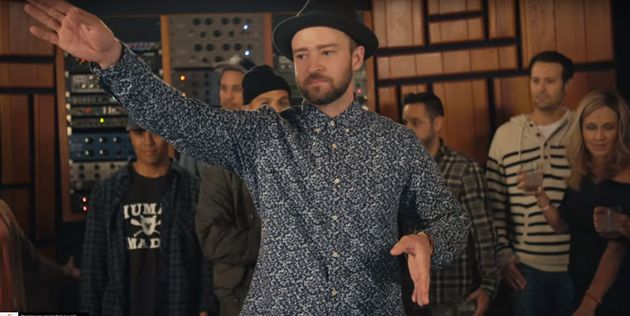 Justin Timberlake in his new video for 'Can't Stop This